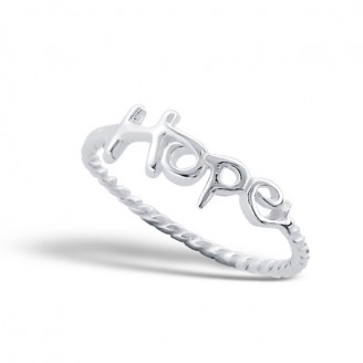 "Stříbrný prsten ""Naděje"". Ag 925/1000"